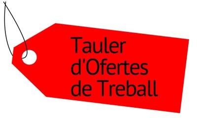 Tauler d'Ofertes de Treball