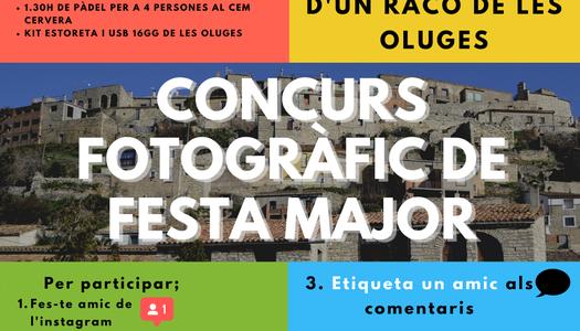 L'Ajuntament de Les Oluges organitza un concurs fotogràfic per Instagram.