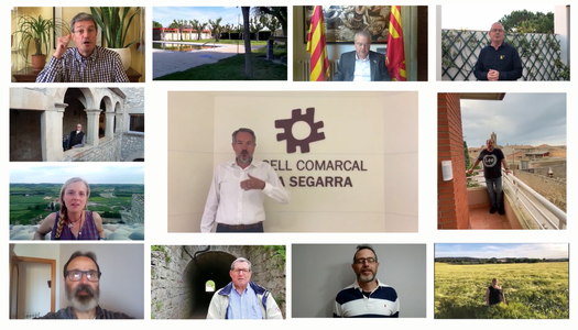 """L'ajuntament de Les Oluges participa en la campanya """"Tornarem"""""""