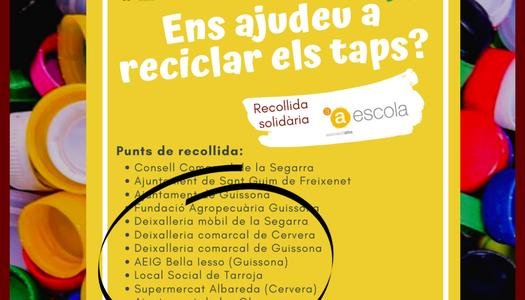"""Les Oluges col·labora en el projecte solidari """"Tapeja"""""""