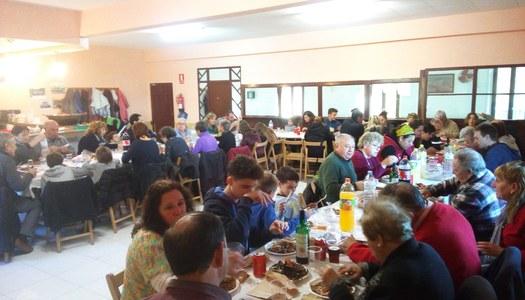 Les Oluges participa activament a La Marató