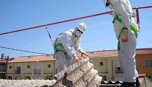 Oberta la convocatòria d'ajuts per a la retirada d'amiant a la construcció